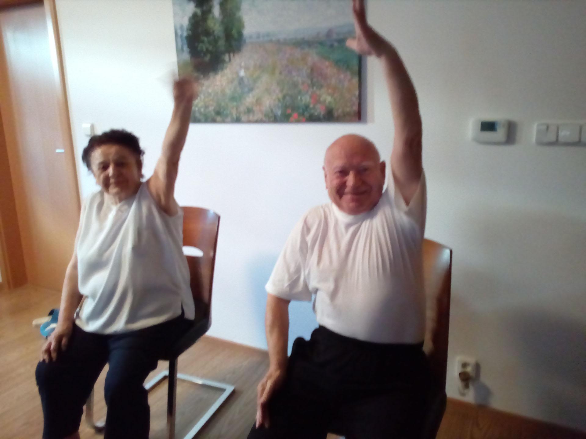Privátní cvičení seniorů